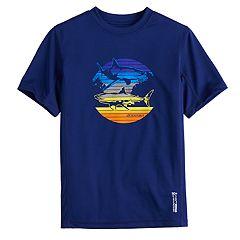 Boys 8-20 ZeroXposur Predator Rash Guard Swim Top