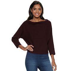 Women's Jennifer Lopez Dolman Cowlneck Top