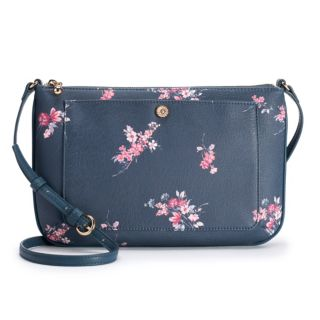 LC Lauren Conrad Bonne Floral Crossbody Bag