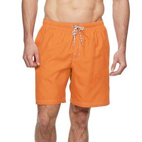 Big & Tall Croft & Barrow® Solid Swim Trunks