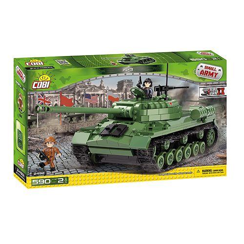 COBI Small Army World War II IS-3 Tank 590-Piece Construction Blocks Building Kit