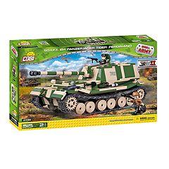 COBI Small Army World War II Sdkfz 184 Panzerjager Tank 515-Piece Construction Blocks Building Kit