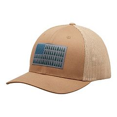9590bab5992 Men s Columbia FlexFit Mesh Tree Flag Fitted Cap