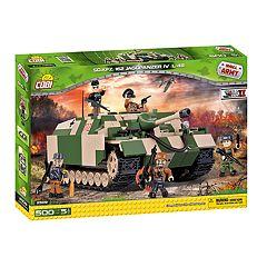 COBI Small Army World War II Sd.Kfz. 162 Jagdpanzer IV Tank 500-Piece Construction Blocks Building Kit