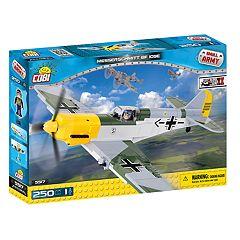 COBI Small Army World War II Messerschmitt BF 109E Airplane 250-Piece Construction Blocks Building Kit
