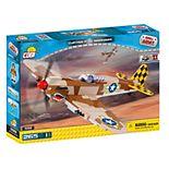 COBI Small Army World War II Curtiss P-40K Warhawk Airplane 265-Piece Construction Blocks Building Kit