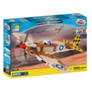 COBI Small Army World War II Curtiss P-40K Warhawk Airplane 265-Piece Construction Blocks Building Kit