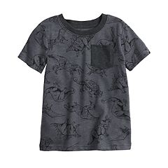 Toddler Boy Jumping Beans® All Over Print Pocket Tee