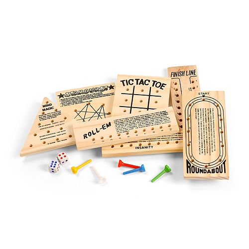 Nifty Wood Game 7-piece Set
