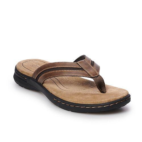 ef38391ba Croft & Barrow® Jensen Men's Ortholite Sandals