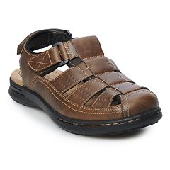 45f7a194711730 Croft   Barrow® Ellis Men s Fisherman Sandals. Black Brown