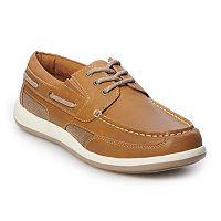 Deals on Croft & Barrow Brice Mens Ortholite Boat Shoes