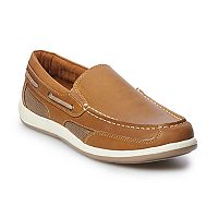 Deals on Croft & Barrow Aldean Mens Ortholite Boat Shoes