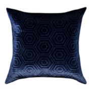 Spencer Home Decor Hexagon Plush Throw Pillow