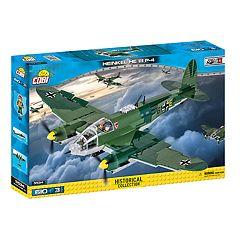 COBI Small Army World War II Heinkel HE 111 P4 Airplane 601-Piece Construction Blocks Building Kit