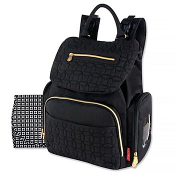 5599e70cbbde Fisher-Price Signature Quilted Avery Backpack Diaper Bag