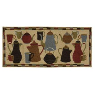 Mohawk® Home Coffee Pot Shuffle Kitchen Rug
