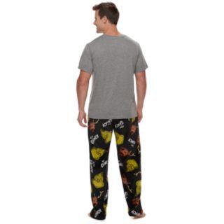 Men's Dr. Seuss Grinch Tee & Lounge Pants Set