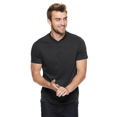Men's Marc Anthony Slim-Fit Luxury Henley