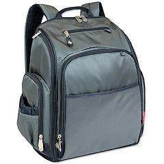 e8661185026 Fisher-Price Factfinder Super Cooler Grey Backpack Diaper Bag