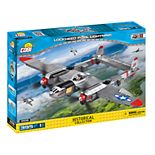 COBI Small Army World War II Lockheed P-38 Lightning Airplane 395-Piece Construction Blocks Building Kit