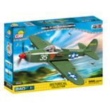 COBI Small Army World War II Bell P-39 Airacobra Airplane 240-Piece Construction Blocks Building Kit