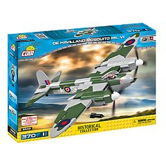 COBI Small Army World War II De Havilland Mosquito MK. VI Airplane 385-Piece Construction Blocks Building Kit