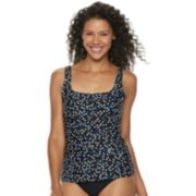 Women's Croft & Barrow® Underwire Tankini Top