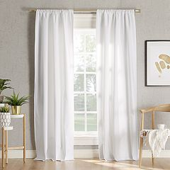 Sun Zero 2-pack Hylan Blackout Window Curtain