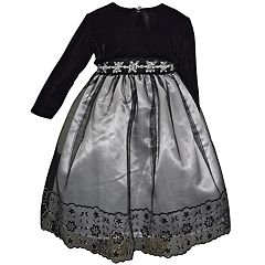 Baby Girl Blueberi Boulevard Embellished Tulle Dress & Shrug Set