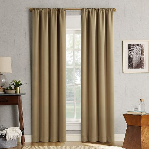 Sun Zero 2-pack Ludlow Blackout Window Curtain