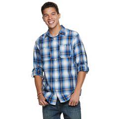 Boys 8-20 Urban Pipeline™ Plaid Button-Down Shirt
