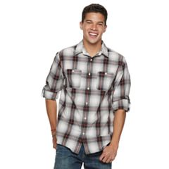 Boys 8-20 Urban Pipeline™ Plaid Button-Down Shirt