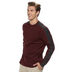 Big  & Tall Van Heusen Classic-Fit Fleece Sweater