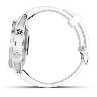 Garmin fenix 5S Plus Multi-Sport GPS Smartwatch (Sapphire White with Carrara White Band)