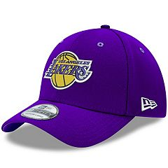 Adult New Era Los Angeles Lakers 39THIRTY Team Classic Flex-Fit Cap
