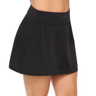 Women's Croft & Barrow® Tummy Slimmer Midrise Skirtini Bottoms