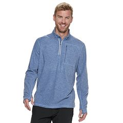 Men's Hi-Tec Burgess Fleece Half-Zip Top