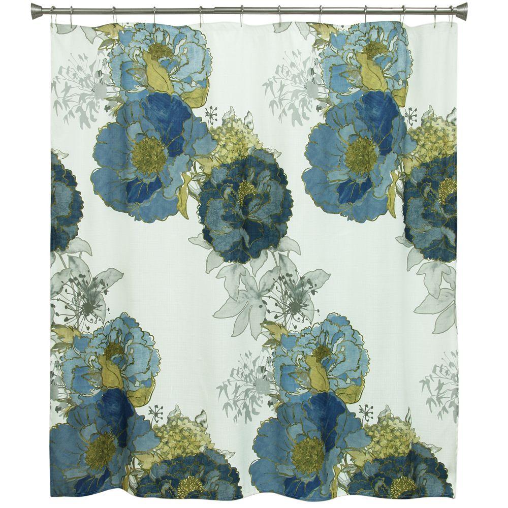 Bacova Guild Justine Shower Curtain