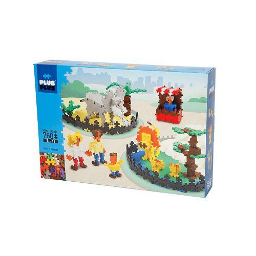 Plus-Plus 760-Piece Zoo Building Set