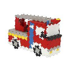 Plus-Plus 760-Piece Fire Truck Building Set