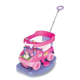Disney Princess 4-in-1 Rock n' Ride Activity Ride-On by Kiddieland