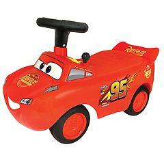 Disney / Pixar Cars 3 Lightning McQueen Light & Sound Racer Activity Ride-On by Kiddieland