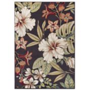 KHL Rugs Tracy Transitional Tropical Floral Rug