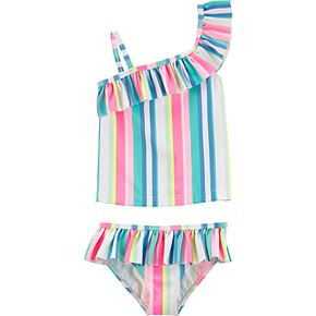Baby Girl Carter's Striped 2-piece Swimsuit