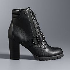 Simply Vera Vera Wang Pintail Women's High Heel Ankle Boots