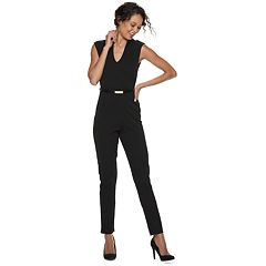 Juniors' Almost Famous Drop Shoulder Jumpsuit