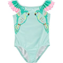 Toddler Girl Carter's Parrot One-Piece Swimsuit