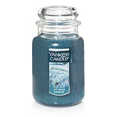 Yankee Candle Icy Blue Spruce 22-oz. Large Candle Jar