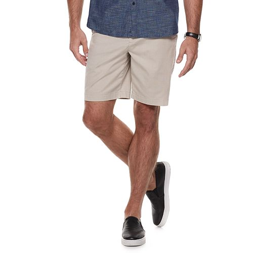 Men's Marc Anthony Slim-Fit Flat-Front Shorts